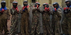 paintball party