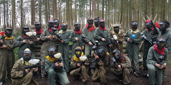 adults kids paintball venue